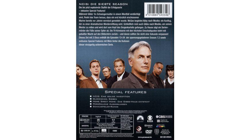 NCIS Naval Criminal Investigate Service Season 7 2 3 DVDs