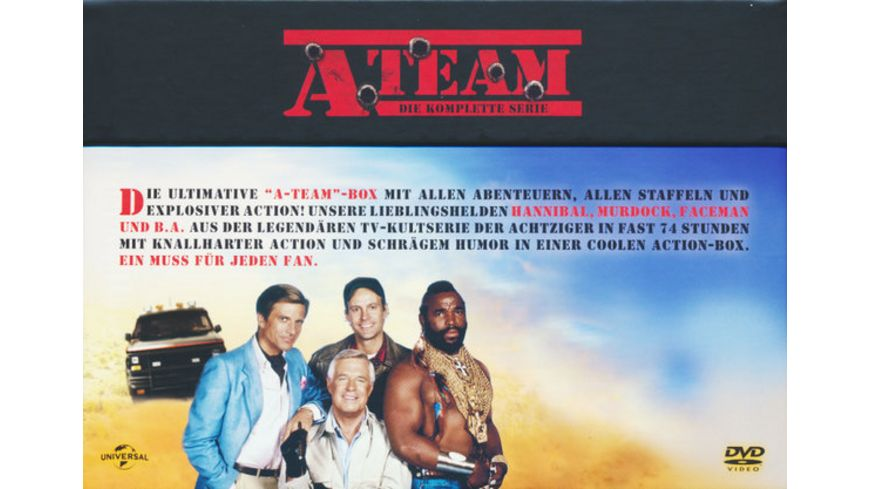 A Team Die komplette Serie 27 DVDs