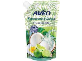 AVEO Cremeseife Kokos Lemon