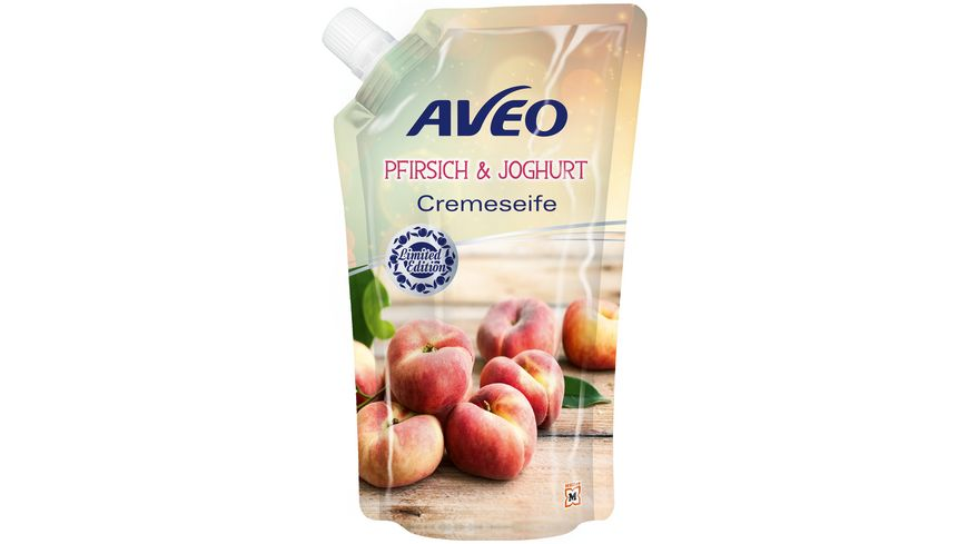 AVEO Cremeseife Pfirsich Joghurt