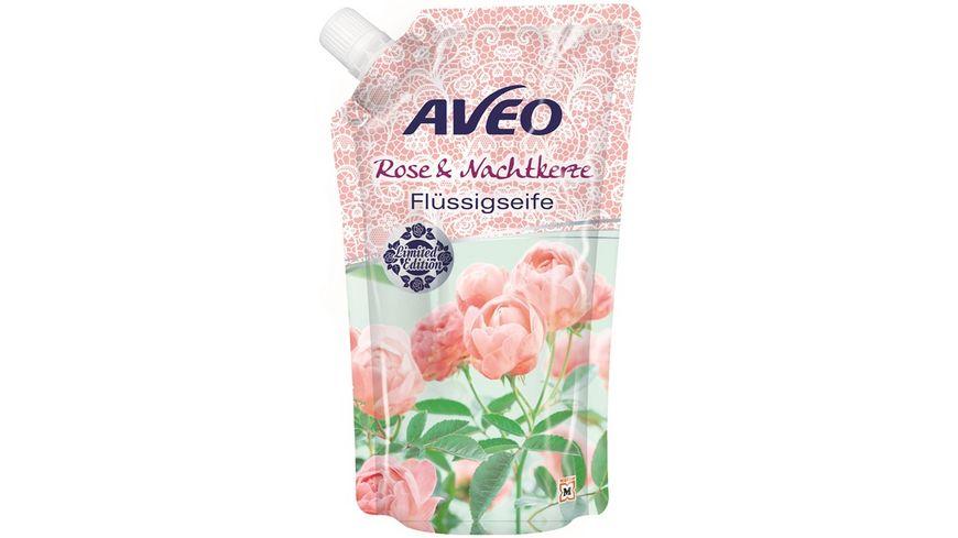 AVEO Cremeseife Rose Nachtkerze Nachfuellpackung