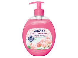 AVEO Cremeseife Rose Nachtkerze