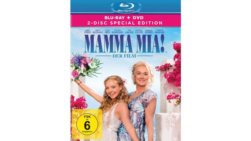Mamma Mia 2 Disc Special Edition Blu ray Bonus DVD
