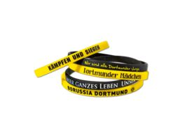 BVB Silikon Armband schwarz gelb