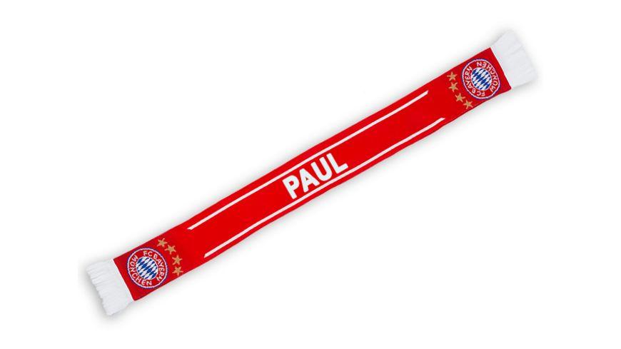 FC BAYERN MUeNCHEN Schal Paul EXKLUSIV BEI MUeLLER