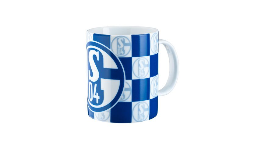 FC Schalke 04 Kaffeebecher Karo