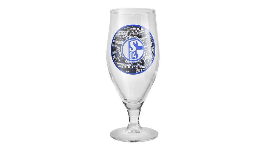 FC Schalke 04 Pilsglas Signet 2er Set