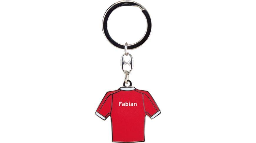 FC BAYERN MUeNCHEN Schluesselanhaenger Fabian