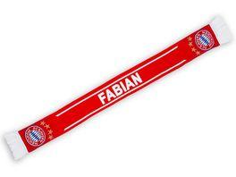 FC BAYERN MUeNCHEN Schal Fabian EXKLUSIV BEI MUeLLER