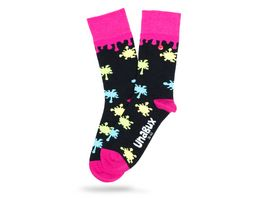 Unabux Socke Farbkleckse Unisex
