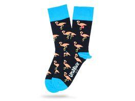 Unabux Socke Flamingos Unisex