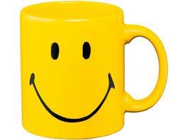 WAECHTERSBACH Henkelbecher Smiley yellow