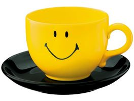 WAECHTERSBACH Jumbotasse Smiley yellow