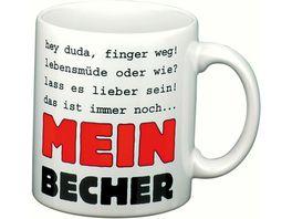 WAECHTERSBACH Henkelbecher Mein Becher weiss