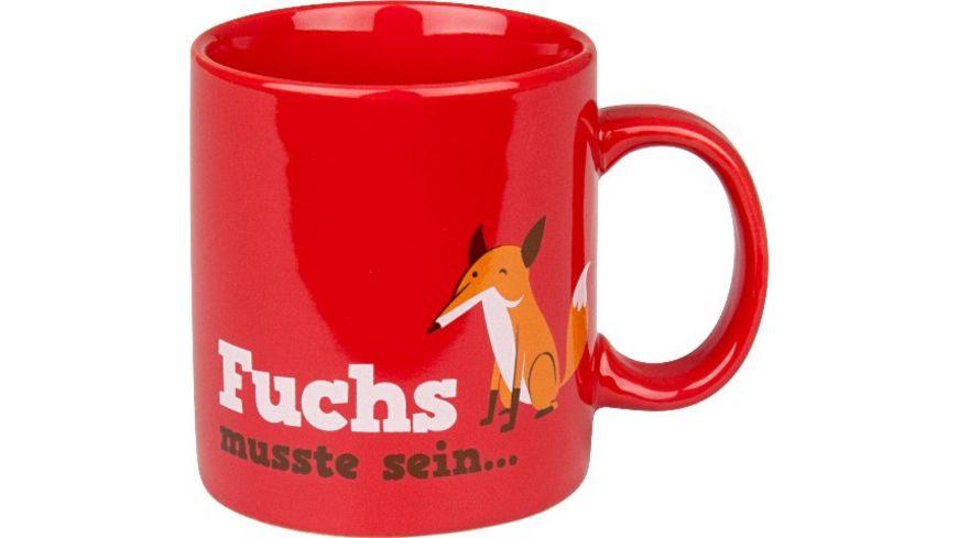 WAECHTERSBACH Henkelbecher Fuchs musste sein