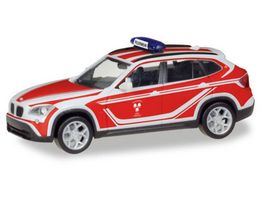 Herpa 093552 BMW X1 Kommandowagen Feuerwehr Landshut