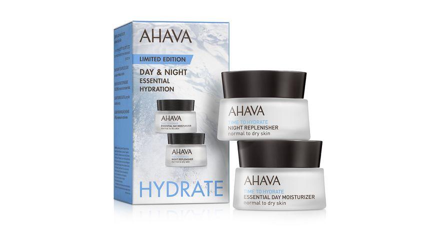 AHAVA Set Essential Day Night Replenisher