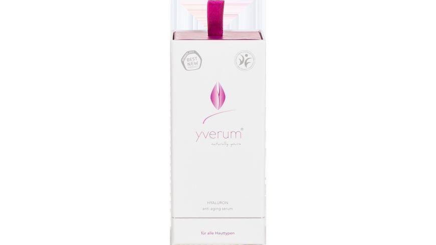 yverum HYALURON anti aging serum
