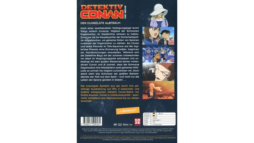 Detektiv Conan 20 Film Der dunkelste Albtraum