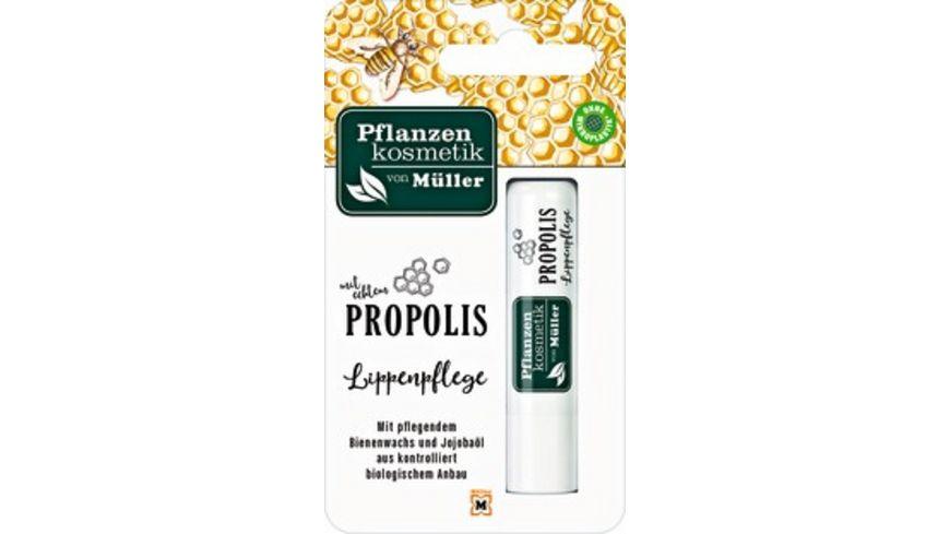 Pflanzenkosmetik von Mueller Propolis Lippenpflege