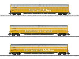 Maerklin 48062 Grossraum Schiebewandwagen Set Habbiillnss