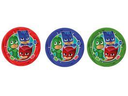John PJ Masks Flummi Light Up Ball 10 cm sortiert
