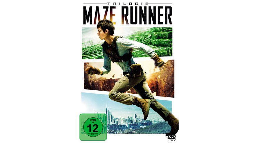 Maze Runner Trilogie 3 DVDs
