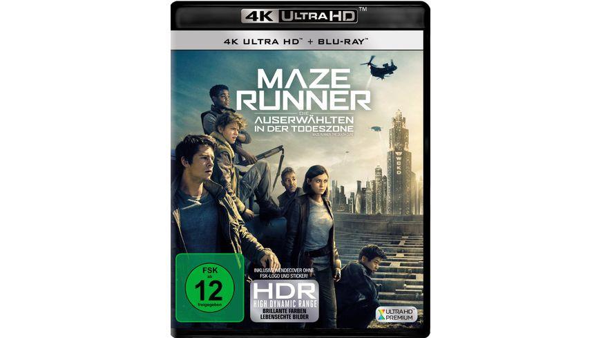 Maze Runner 3 Die Auserwaehlten in der Todeszone 4K Ultra HD Blu ray