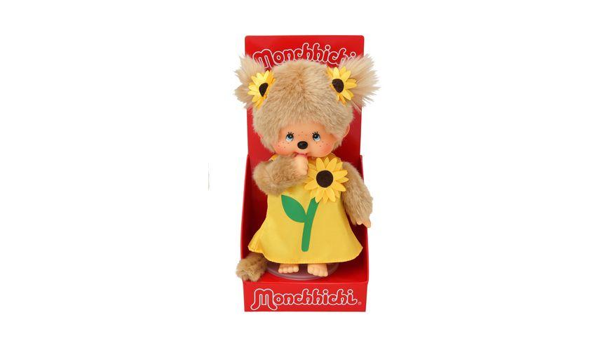 Monchhichi Sonnenblumenmaedchen 20 cm