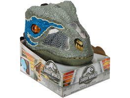 Mattel Jurassic World Velociraptor Maske Blue mit Sound