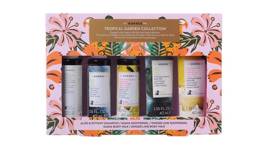 KORRES TROPICAL GARDEN Mini Collection Set