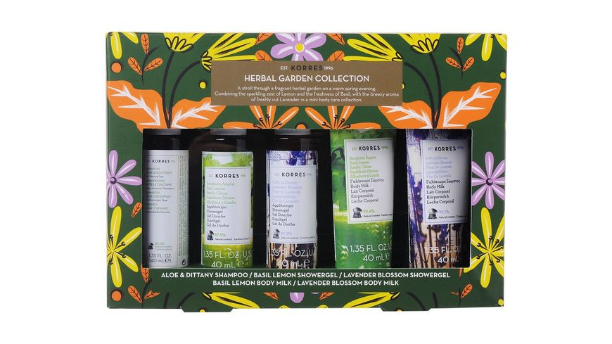 KORRES HERBAL GARDEN Mini Collection Set