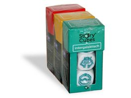 The Creativity Hub Wuerfelspiel Rory s Story Cubes Mix Bundle 2