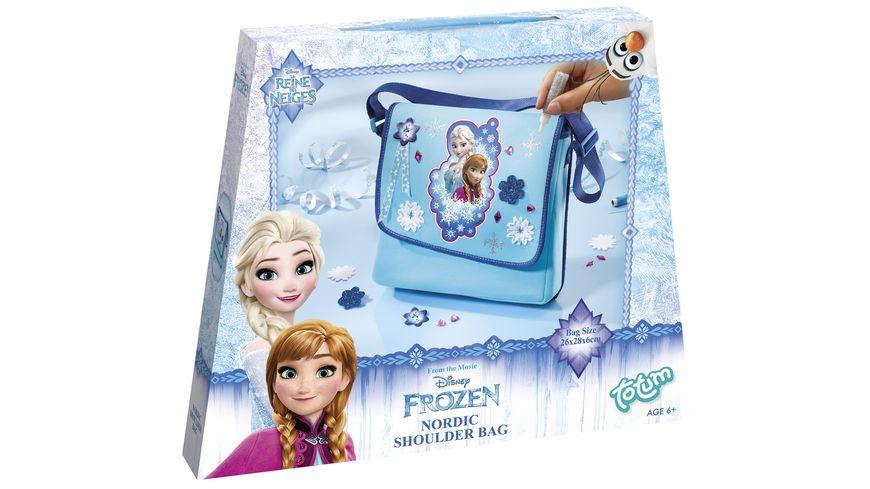 TM ESSENTIALS Disney Frozen Schultertasche Do It Yourself Set