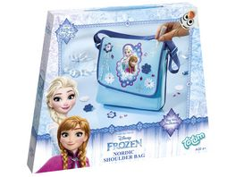 TM ESSENTIALS Disney Frozen Schultertasche Do It Yourself Set