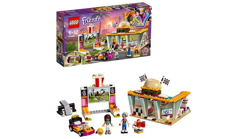 LEGO Friends 41349 Burgerladen