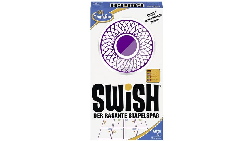 Thinkfun Swish der rasante Stapelspass