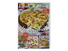 Land Edition Kaesekuchen suess und herzhaft