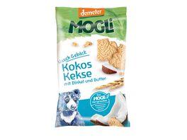 MOGLi Bio Kokos Kekse mit Dinkel und Butter