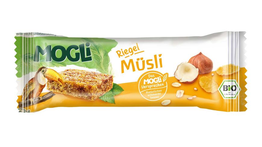 MOGLi Bio Riegel Muesli