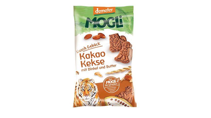 MOGLi Bio Kakao Kekse mit Dinkel und Butter