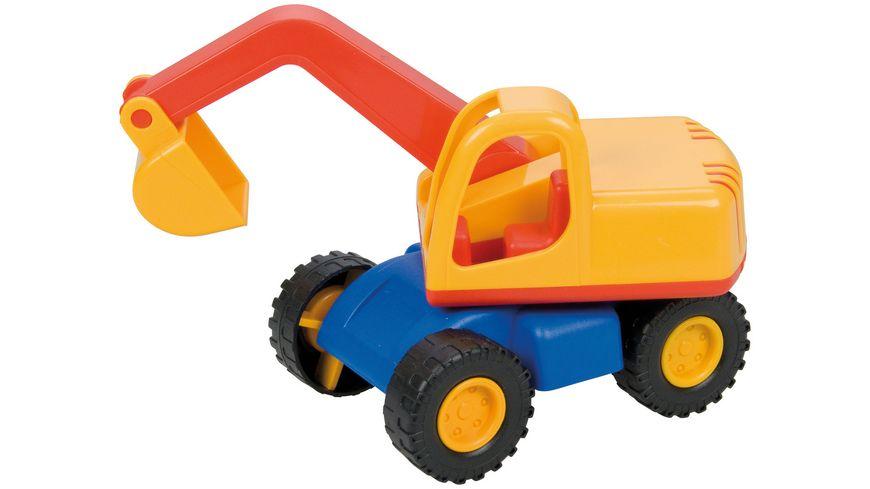 Lena Fahrzeuge Mini Compact 01229 Bagger
