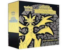 Pokemon Sammelkartenspiel Top Trainer Box Sonne Mond Grauen der Lichtfinsternis