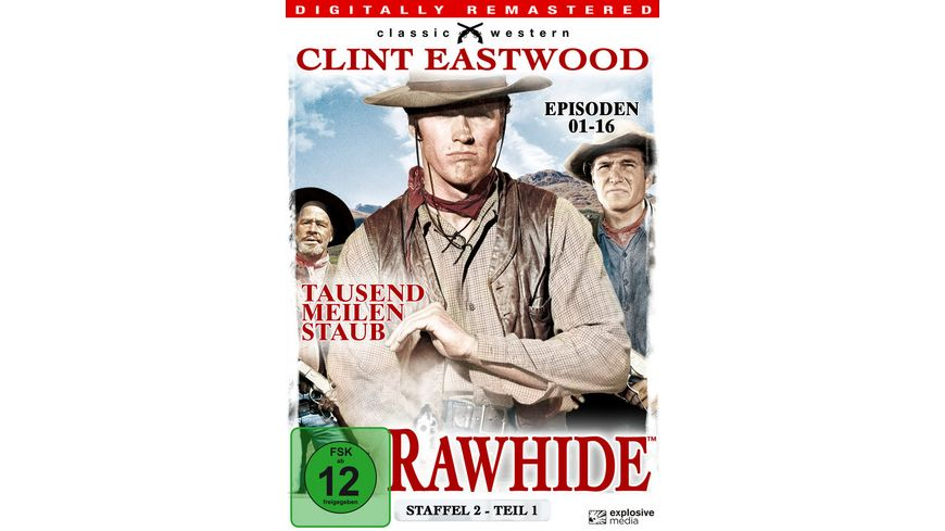Rawhide Tausend Meilen Staub Season 2 1 4 DVDs