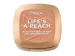 L OREAL PARIS Rouge Life s a Peach Blush
