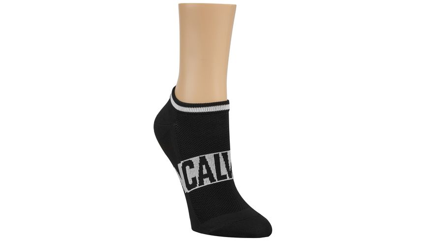 Calvin Klein Damen Sneakersocken CK Logo