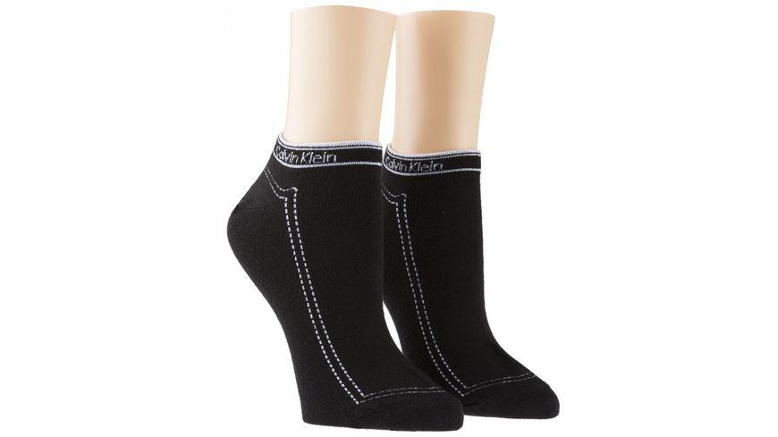 Calvin Klein Damen Sneakersocken Kimmy 2er Pack