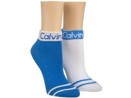 Calvin Klein Damen Sneakersocken Zoey 2er Pack