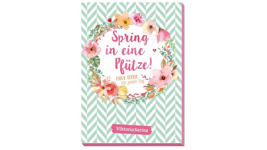 Community Editions Spring in eine Pfuetze