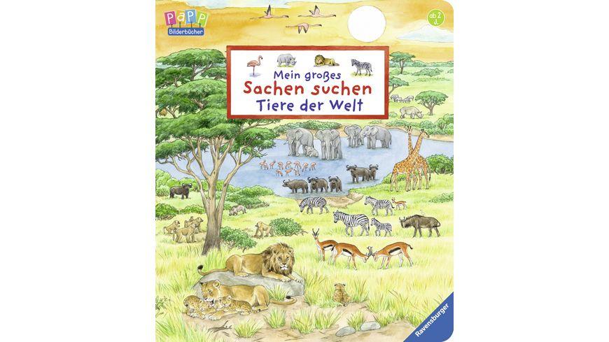 Ravensburger Mein grosses Sachen suchen Tiere der Welt